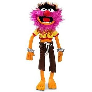 "Disney The Muppets Animal 17"" Plush"